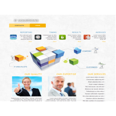 Template  Joomla  ITSolutions
