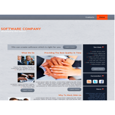 Template WP SoftwareCompany